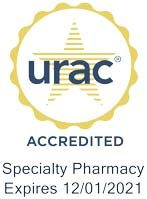 Paragon Healthcare's specialty pharmacy is accredited by URAC